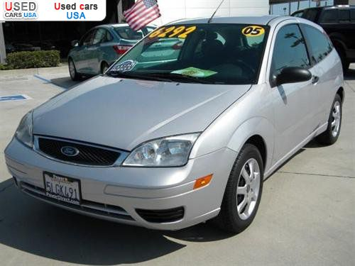 For Sale 2005 passenger car Ford Focus ZX3, Tustin ...